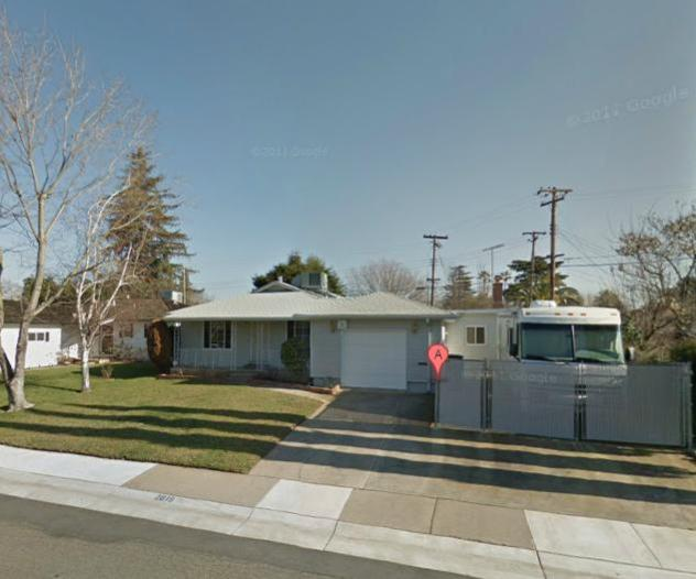 Rancho Cordova, CA. Her old house is a block from Cordova High School.