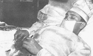 On April 30, 1961, Dr. Leonid Rogozov removed his own appendix at a Soviet Research Station in Antarctica.
