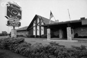 The Red Fox Restaurant in 1975
