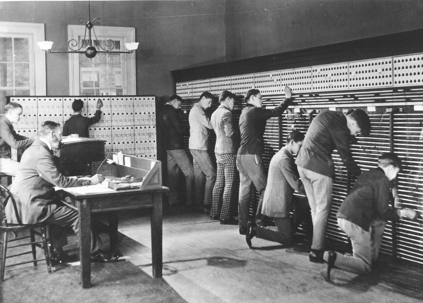 The First Telephone Switchboard Operators Were Rude Boys