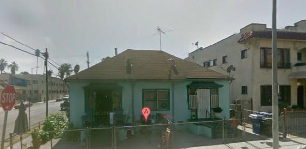 Did Deverell live here at one time before moving in with Joy? It is very close to the  part of L.A. where he was raised.