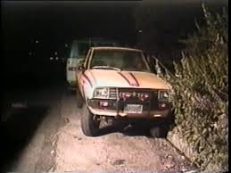 Dodge D50 4x4 Pick Up. Was this Billy's or Ron's vehicle? Source: LAPD Crime Scene Video