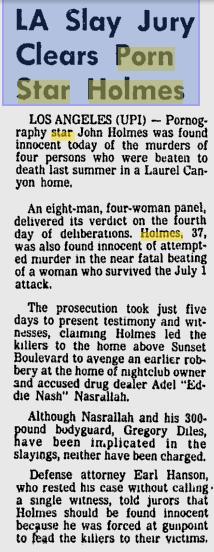Holmes Trial