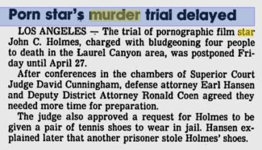 You can't make this stuff up. News articles back then had attention to detail.