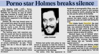 UPI Article. Nov. 23, 1982.