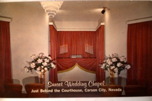 1970 Era  Photo - Sunset Wedding Chapel, Carson City, NV.
