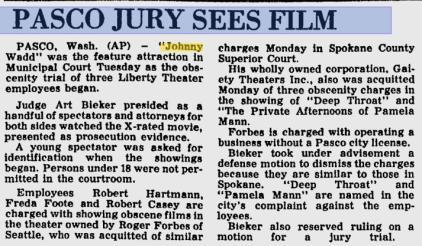 The Spokesman-Review. March 16, 1977.
