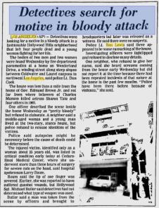 AP Article. July 2, 1981.