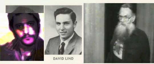 David Lind over the years.
