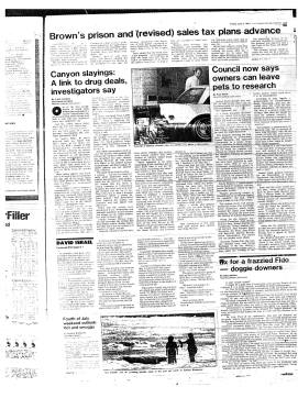 L.A. Herald-Examiner. July 3, 1981