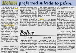 UPI Article. Dec. 5, 1982.