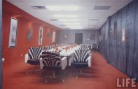 Astrodome Dining Room, 1965.