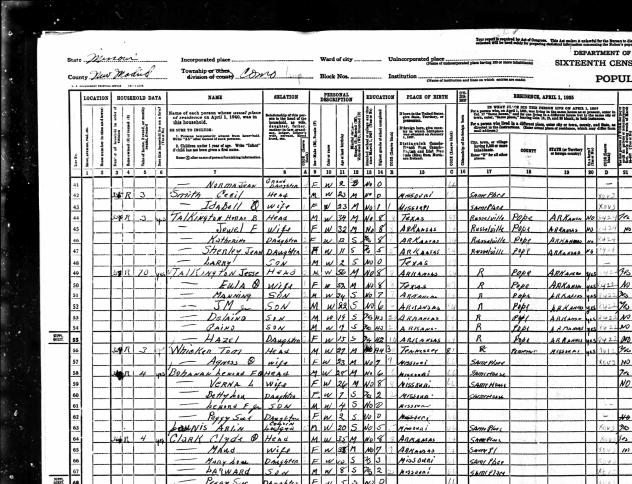 1940 US Census.