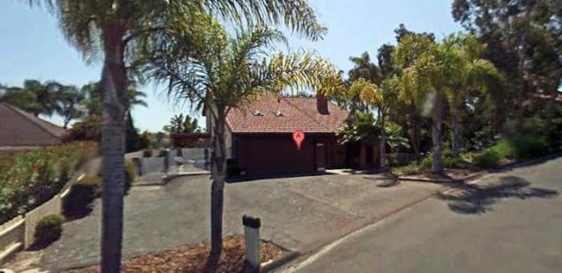 Helen's old house at 2312 Littler Lane in Oceanside, CA. Four beds/3 baths, built in 1974. 2,500 sq ft. Last sold in 1994.
