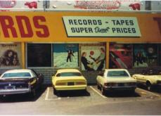 Tower Records, L.A. 1977.