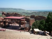 Red Rocks with Denver in the background. What a great trip.