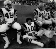 Wichita State Football Team. 1978. Is BTK in the crowd?