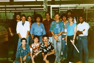 In-Store visit by Patrick Moraz and Bill Bruford. Can you pick them out?