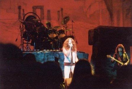 Black Sabbath, Born Again Tour with Ian Gillan on vocals.