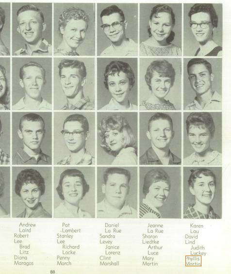 David Lind - Lodi High School 1960 yearbook