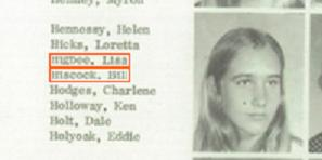 Helen Hennessy. Fallbrook High School. 1976. It is the only year she attended that school. After that... nobody knows.