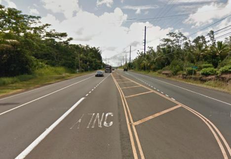 Hwy 130, or Keaau-Pahoa Road.