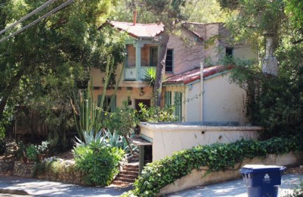 Danny Sugerman's house on Wonderland Ave. It was part studio, part party place!