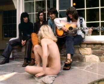 The Stones in Laurel Canyon.