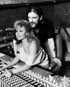 Lemmy and Samantha Fox (the singer not the porno star)
