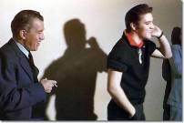 Ed and Elvis.