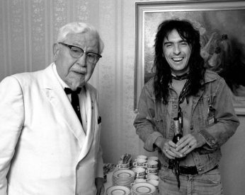 The Colonel and Alice. Mid-1970s.