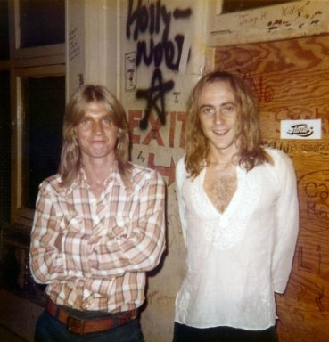 Singer Ian Lloyd on the right. Whisky A Go Go.