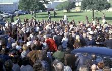 Jack Benny's funeral.