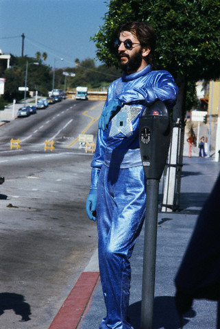 Ringo Starr at photo shoot promoting new album.