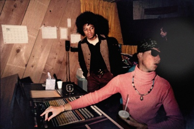 Michael Jackson at The Record Plant.