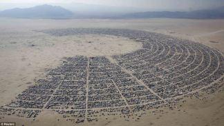 Burning Man Festival. It's so organized!
