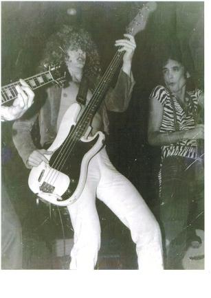 Virgin rocks the Starwood. 1980.
