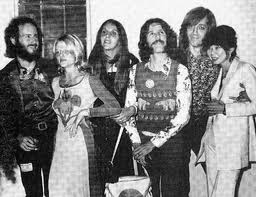 The Doors and their wives.