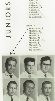Ray. 1955 Senior photo.