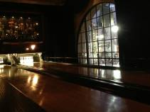 Roosevelt Hotel bowling alley.