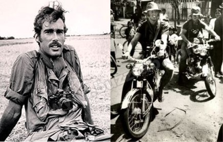 Errol Flynn's son, Sean. He was a photojournalist in Vietnam and was killed by VC or Khmer Rouge.