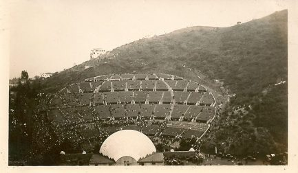The Hollywood Bowl back in the day.