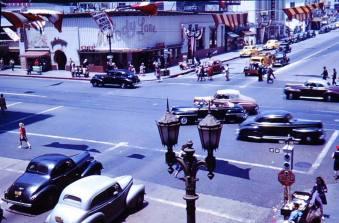 1940s Hollywood.