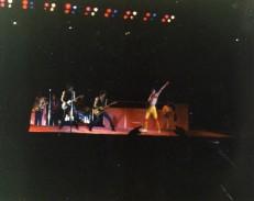 The Stones in LA, 1981.