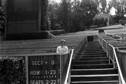 Hollywood Bowl, 1981.