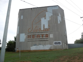 Abandoned Drive In Theater.