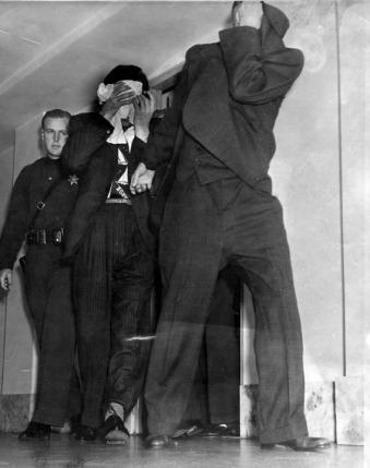 Bugsy Siegel arrested, 1940.