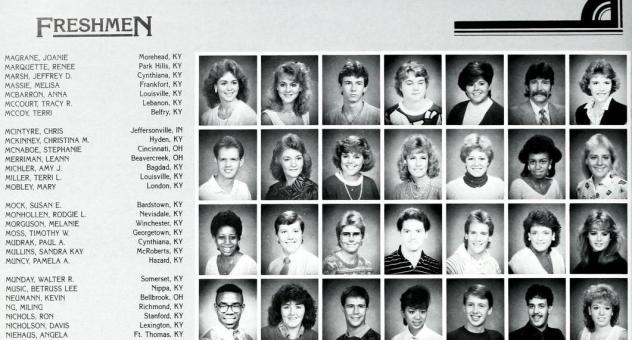 """""""Milestone"""" at EKU. 1987."""