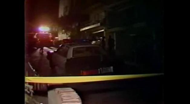Cop car, Wednesday night, 7/1/81.