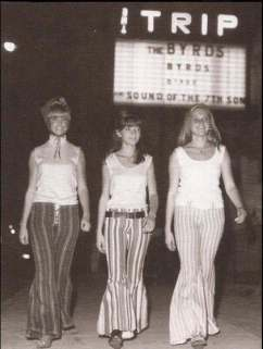 3 babes go to see The Byrds.